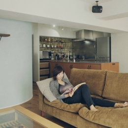 リノベーション / mocha (プライベートカフェのような寛ぎの空間)