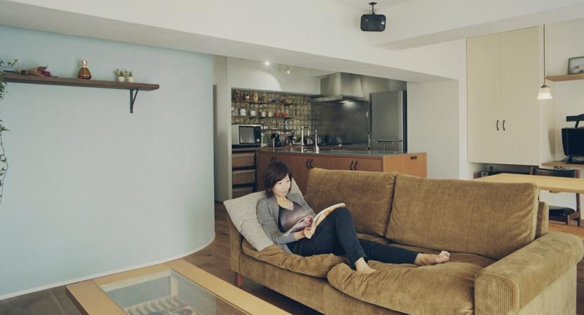リノベーション / mochaの写真 プライベートカフェのような寛ぎの空間