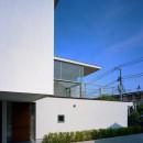 【フラッツ5+1】  − オーナー3住戸+賃貸2戸+アトリエの複合建築の写真 外観