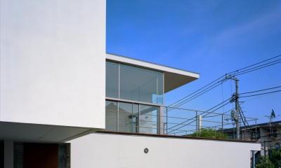 【フラッツ5+1】  − オーナー3住戸+賃貸2戸+アトリエの複合建築 (外観)