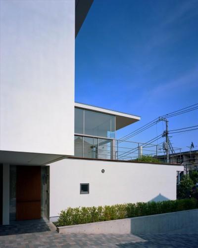 外観 (【フラッツ5+1】  − オーナー3住戸+賃貸2戸+アトリエの複合建築)