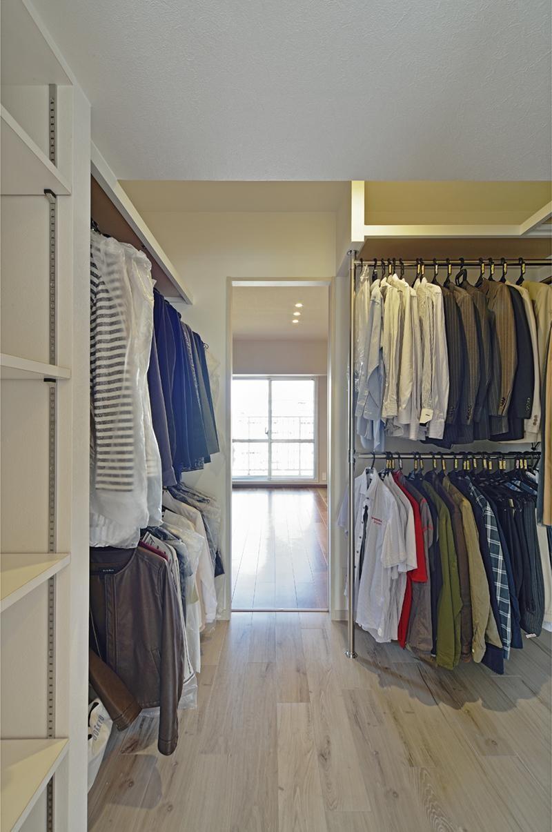 少ないけれども十分な収納スペースを設けた快適な住居 (収納)