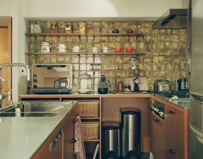 こだわりのつまったキッチン (リノベーション / mocha)