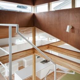 上戸祭の家 (階段)