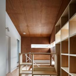 上戸祭の家 (図書室)