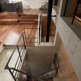 丘の上の家 (階段室)