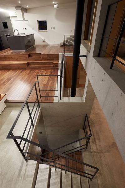 階段室 (丘の上の家)