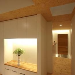田園調布本町の家-リノベーション (廊下)
