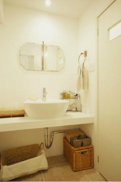 洗面室 (リノベーション / courbe)