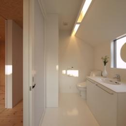 田園調布本町の家-リノベーション (洗面室)
