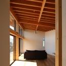 【Trilogy−北の家】 3つの分譲宅地で1つの世界をつくるの写真 リビングダイニング