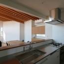 【Trilogy−北の家】 3つの分譲宅地で1つの世界をつくるの写真 キッチン