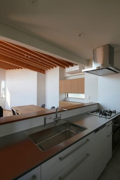 キッチン (【Trilogy−北の家】 3つの分譲宅地で1つの世界をつくる)