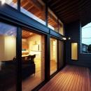 【Trilogy−北の家】 3つの分譲宅地で1つの世界をつくるの写真 テラス