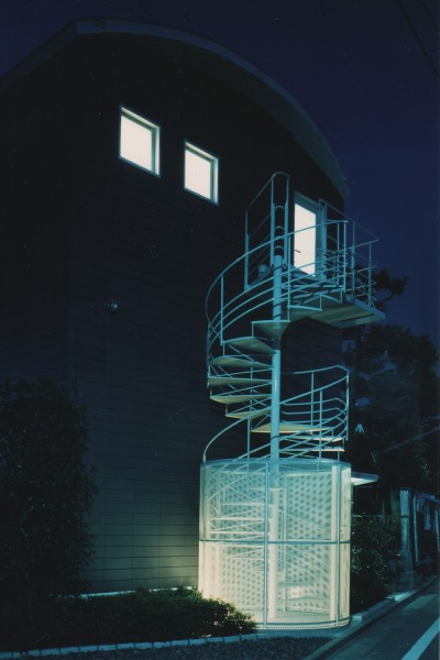 外観 (【アトリエの家】 80歳の画家のアトリエ+住居。これまでの生き方を内包し、これからの夢を育む)