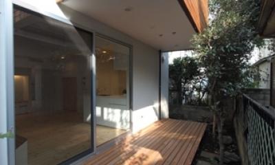 田園調布本町の家-リノベーション (テラス)