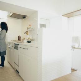 リノベーション / courbe (キッチンスペース)