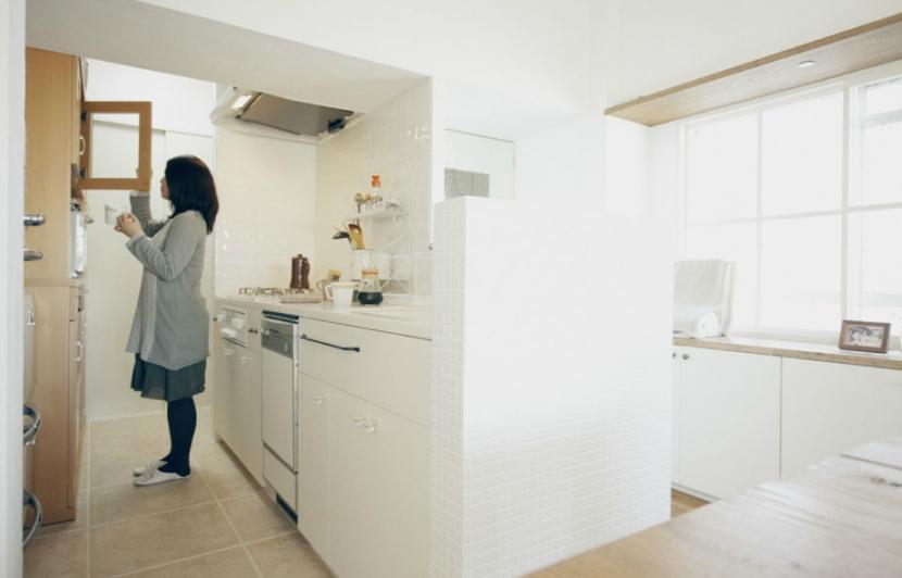 リノベーション / courbeの写真 キッチンスペース