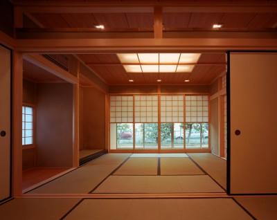 和室 (【広場の家】  家族の心をつなぐ円形広場)