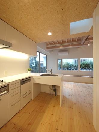 田園調布本町の家-リノベーション (キッチン)