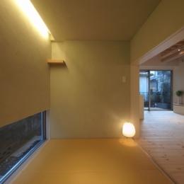 田園調布本町の家-リノベーション (和室)