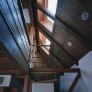 【市川の家】 光を求めて空へとのびるOMソーラーの家の写真 吹抜