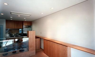 【公園通りの家】  建坪8坪の極小! 店舗併用住宅 (店舗部分)