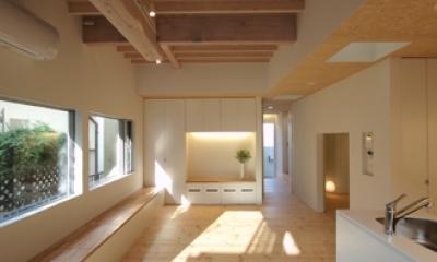 田園調布本町の家-リノベーション (リビング)