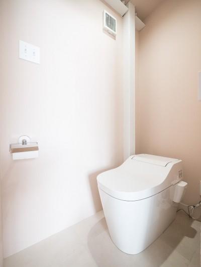 トイレ (倉庫リノベーション_シンプル海外スタイル)