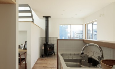 Landing, Stove and Vault Ceiling (キッチン)