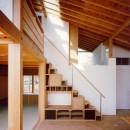 【橘の家】の写真 階段