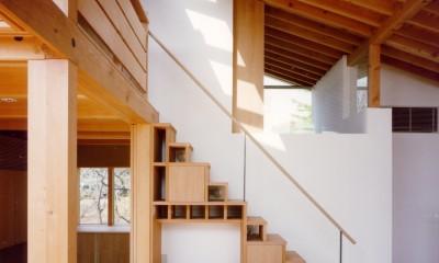 【橘の家】 (階段)