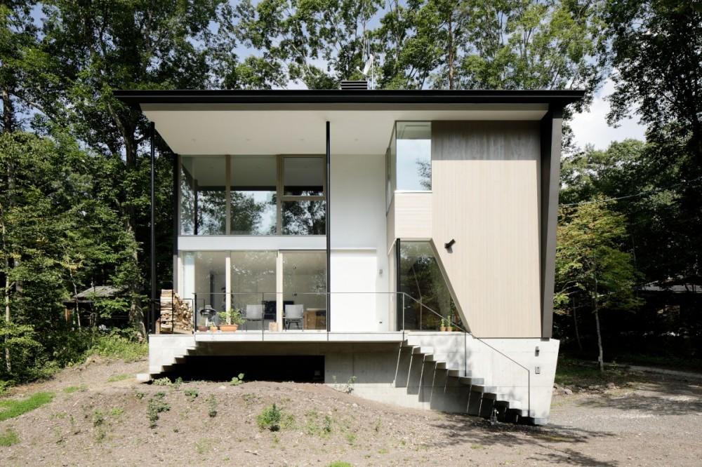 062m-house in 軽井沢 (外観)