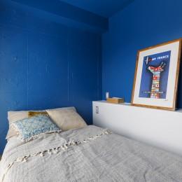 七味—制約のある物件で実現した、やりたいことがギュッと詰まった暮らし-ベッドルーム