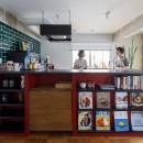 七味—制約のある物件で実現した、やりたいことがギュッと詰まった暮らしの写真 キッチン