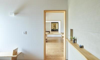玄関ホール|リノベーションH(築45年戸建平屋2世帯のリノベーション)