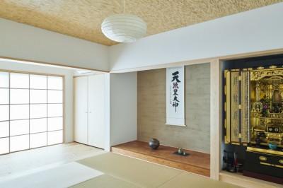 和室 (リノベーションH(築45年戸建平屋2世帯のリノベーション))
