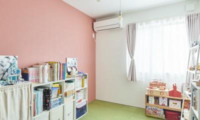 リノベーションH(築45年戸建平屋2世帯のリノベーション) (子供部屋)