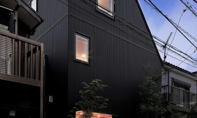 阿佐ヶ谷ライト・エコハウス (外観の夜景)