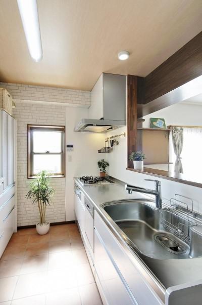 リフォームで、持続可能な住居へ (キッチン)