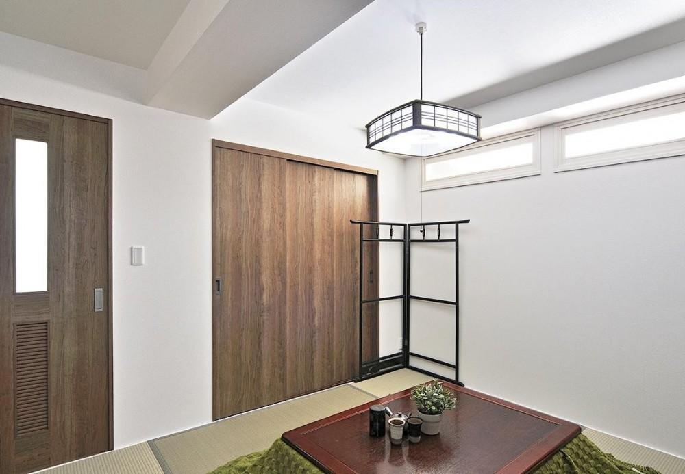リフォームで、持続可能な住居へ (寝室)
