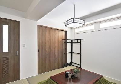 寝室 (リフォームで、持続可能な住居へ)