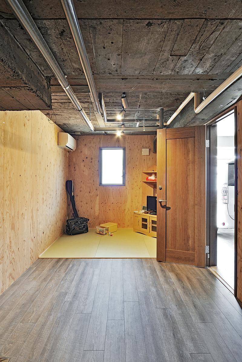 リフォームで、持続可能な住居へ (書斎)