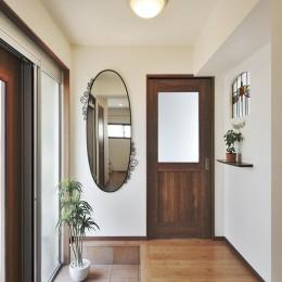 リフォームで、持続可能な住居へ (玄関・土間)