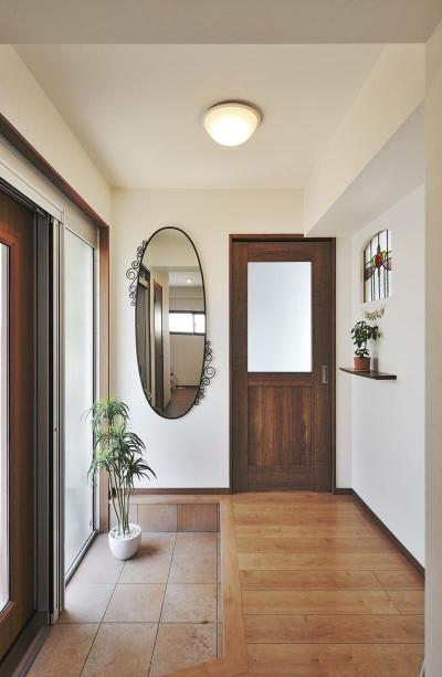 玄関・土間 (リフォームで、持続可能な住居へ)