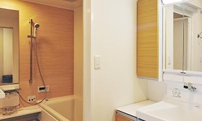 リフォームで、持続可能な住居へ (洗面・浴室)