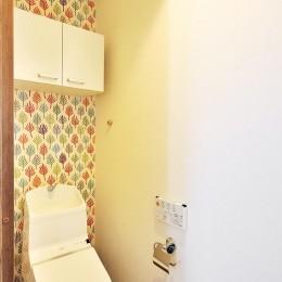 リフォームで、持続可能な住居へ (トイレ)