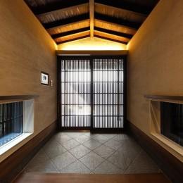 姫路・天満の家 離れ (玄関内部)
