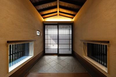 玄関内部 (姫路天満の家・第一期)
