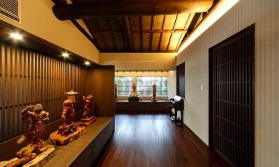 姫路天満の家・第一期 (仏像の展示室)